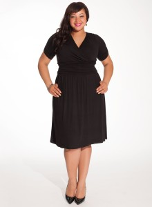 The Search for the Perfect Plus Size Little Black Dress - SizeCharter
